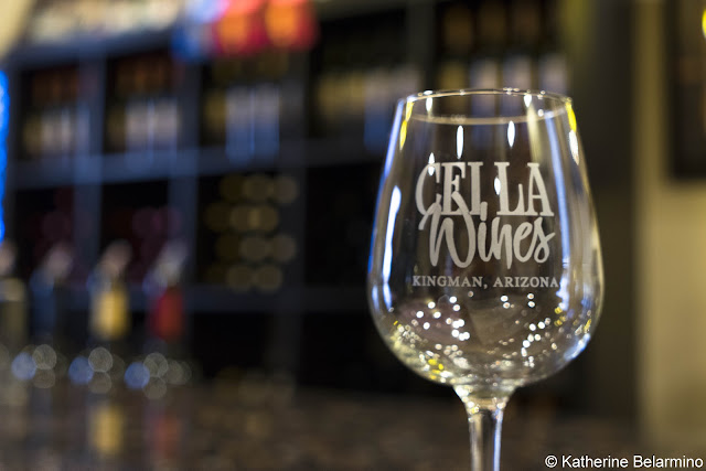 Cella Winery Glass Route 66 Kingman Arizona Wineries