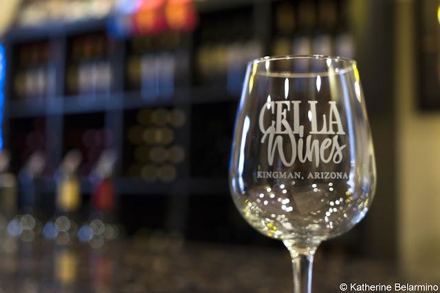 Cella Winery Glass Route 66 Kingman Arizona Wineries