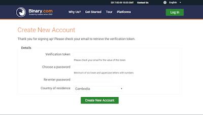 binary dot com verification