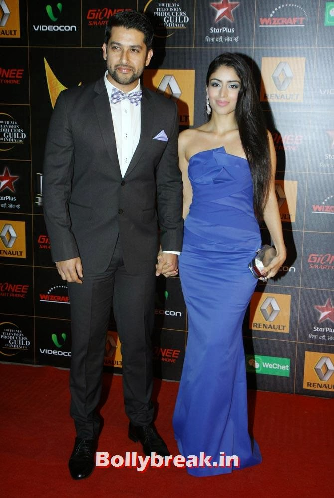 Aftab Shivdasani, Nin Dusanj, Star Guild Awards 2014 Pictures