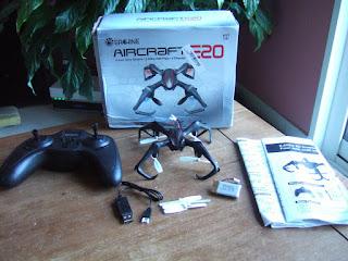 Spesifikasi Eachine E20 Mini Spider Drone - OmahDrones