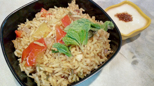 Tasty Food Simple Rice recipe