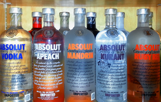 Absolut Vodka in 2013