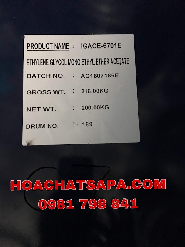 CELLOSOLVE ACETATE (CHỐNG MỐC) - CAC