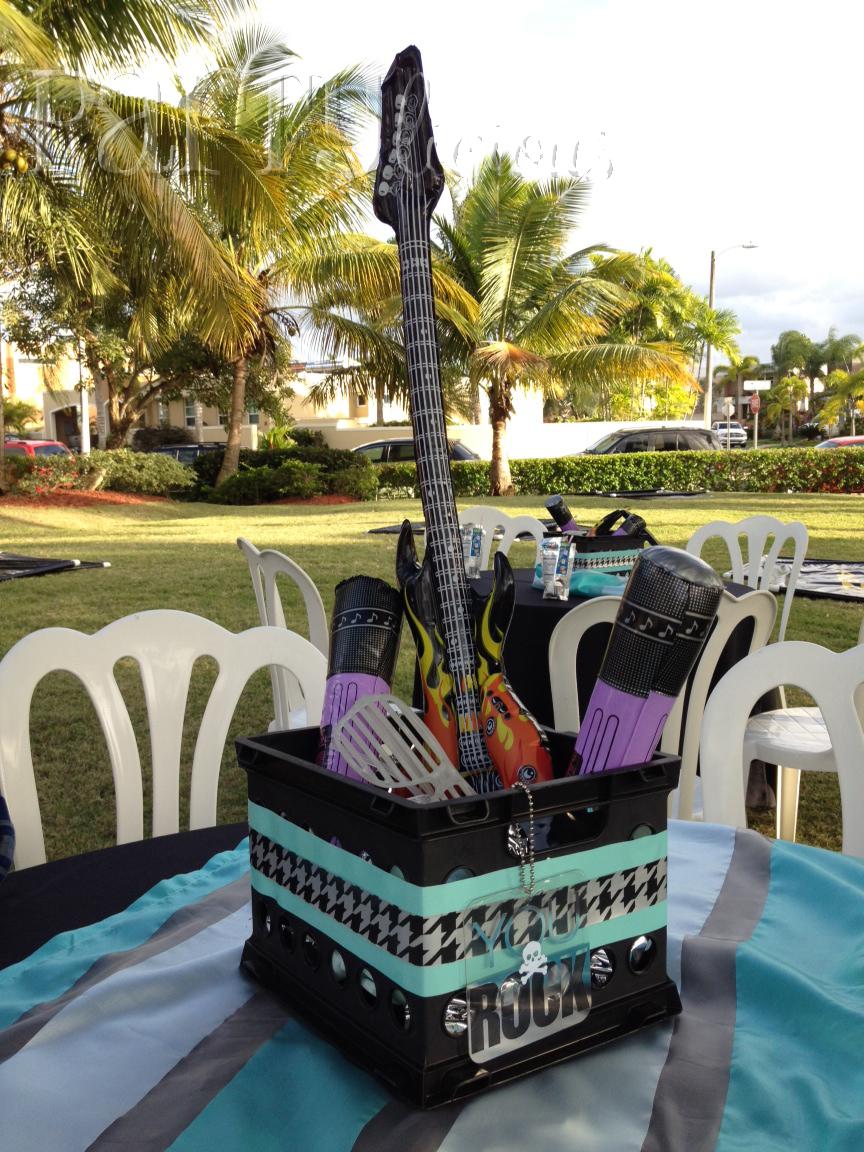 Partylicious Events Pr Rock Star Birthday