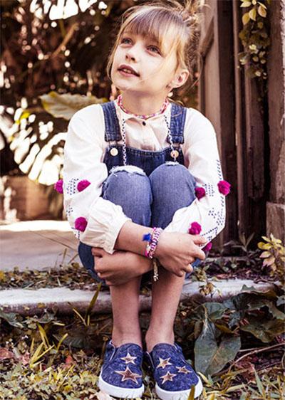 Moda en ropa para niñas otoño invierno 2018.