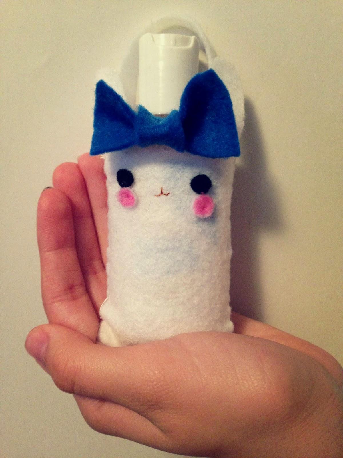 Cute Bunny Hand Sanatizer Holder