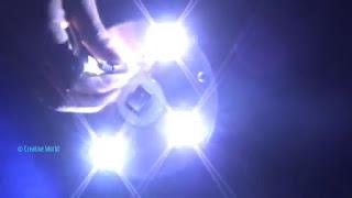 membuat sendiri lampu sorot super terang dari cd bekas