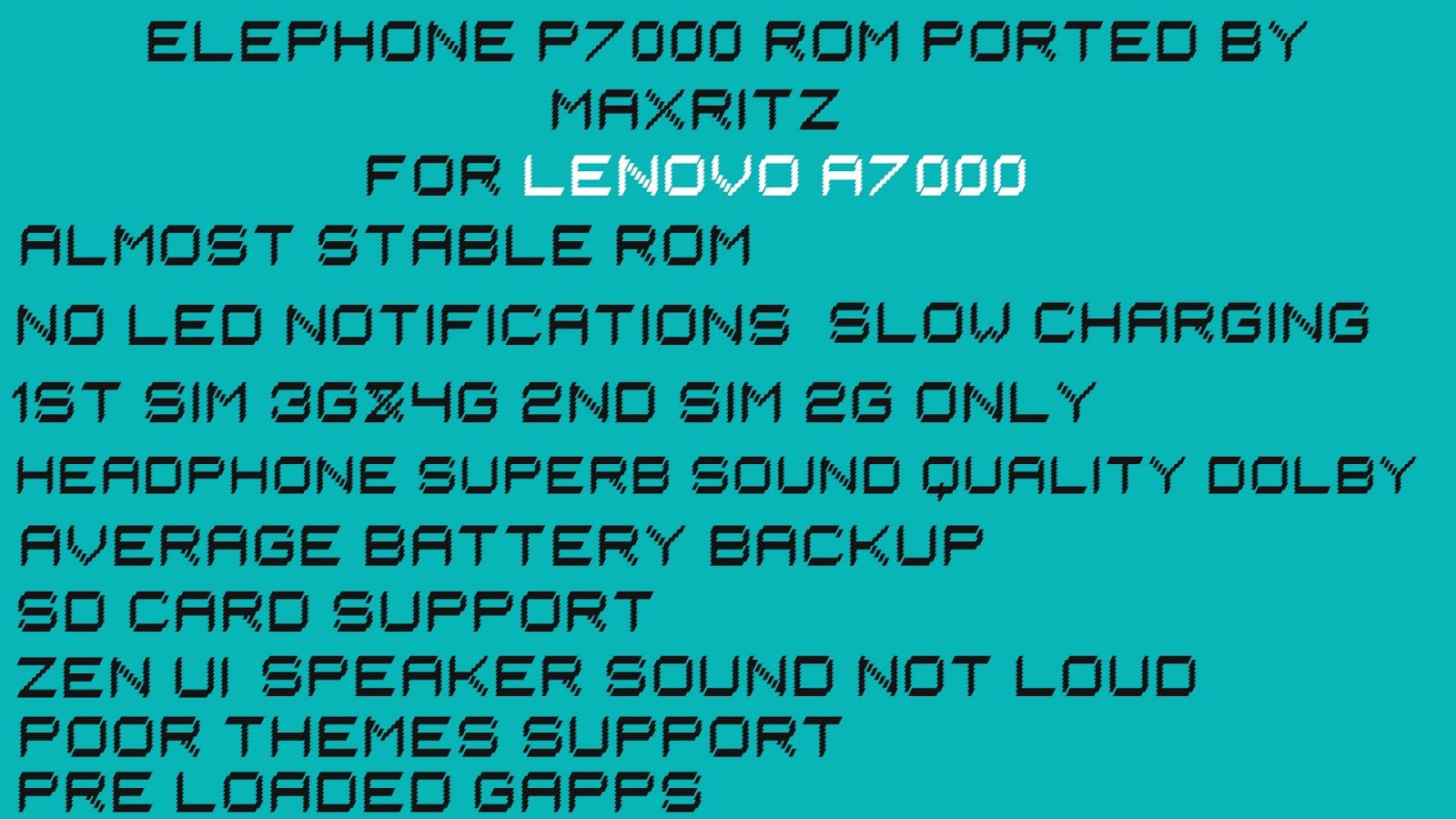 Lenovo Roms Support Cwm For Lenovo A7000 – Desenhos Para Colorir