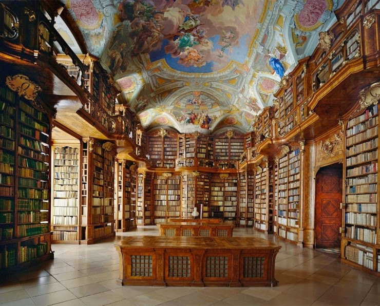 5. St. Florian Library, Austria - 31 Incredible Libraries and Bookstores Around the World