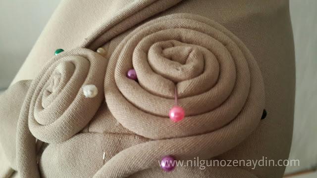 www.nilgunozenaydin.com-kıyafete süsleme yapma- fitillerle süsleme-tasarım işleri-dikiş blogu