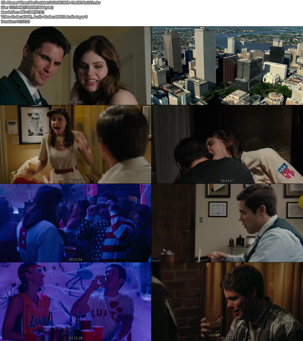 When We First Met 2018 100MB NF WEB-DL HEVC x265 Screenshot