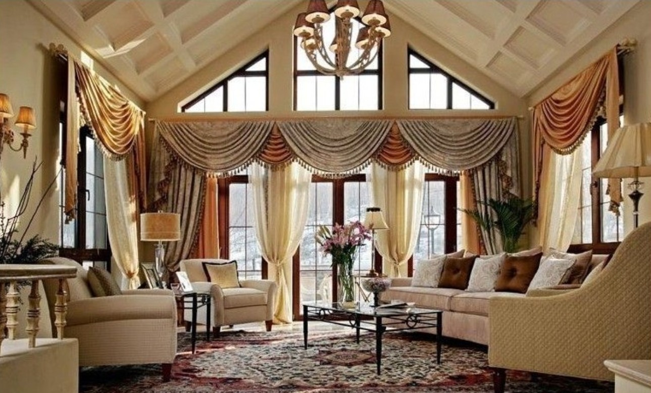 Curtains designs 2016 for living room - Latest Curtains Designs For Living Room Housephotous
