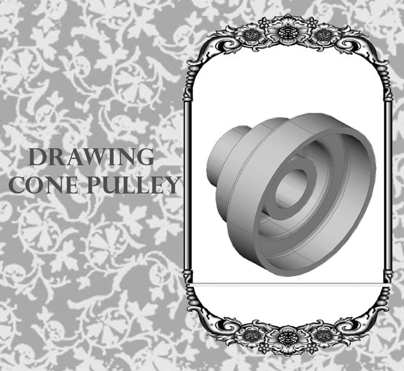 Techdrawing Drawing Pulley