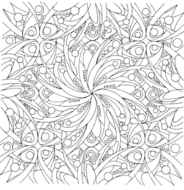 Free Printable Flower Coloring Pages For Adults New