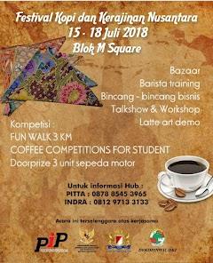 Festival Kopi dan Kerajinan Nusantara