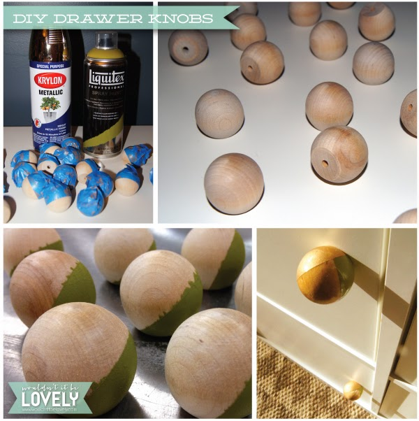 Wouldn T It Be Lovely Diy Drawer Knobs