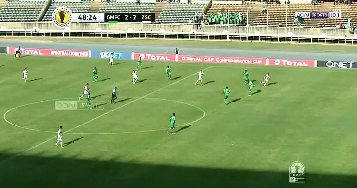 فيديو : الزمالك يخسر برباعية فى اولى مباريات  كأس الكونفيدرالية الأفريقية 2019 امام غور ماهيا