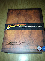 Indiana Jones Blu-Ray box set collector's edition