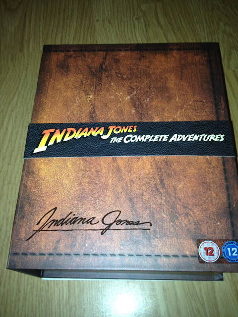 Indiana Jones The Complete Adventures Collector's Edition Blu-ray