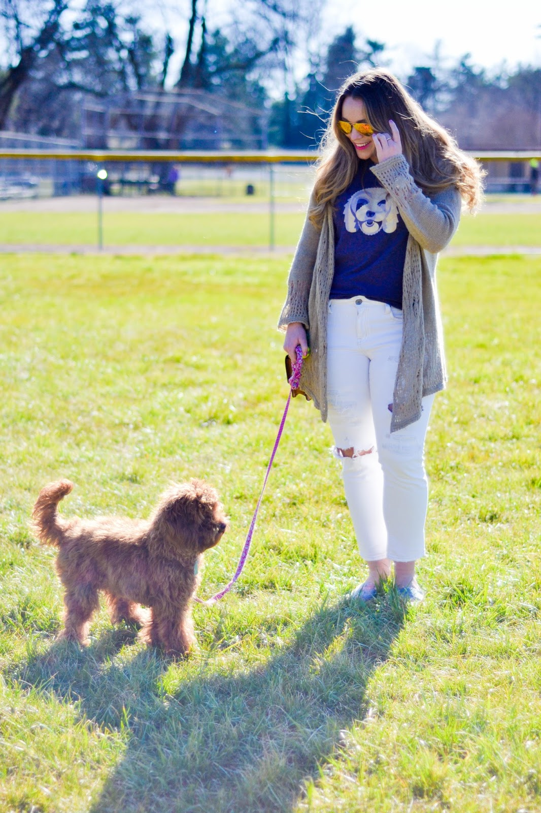 Ruby Goldendoodle Tee