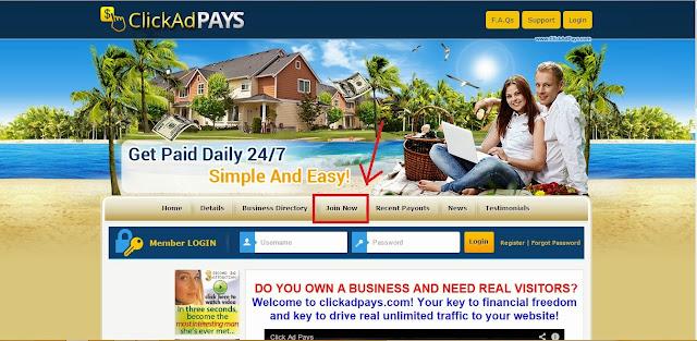 Hướng dẫn kiếm tiền với Clickadpays toàn tập - Đầu tư PTC thu lời nhanh