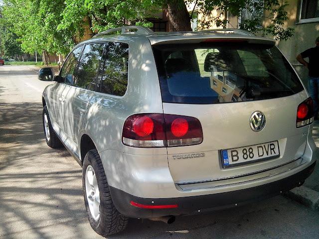 Vand VW Touareg