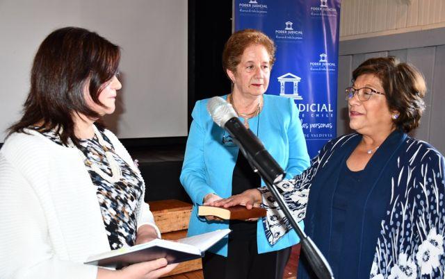 María Elena Llanos jura como ministra de la Corte de Apelaciones de Valdivia
