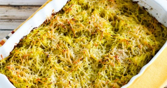 ... Kitchen®: Twice-Baked Spaghetti Squash with Pesto and Parmesan