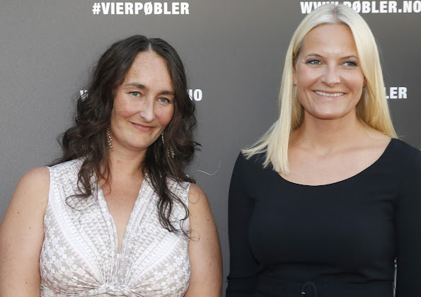 "Princess Mette-Marit of Norway attended premiere of the documentary ""Pøbler"" (Rabble)"