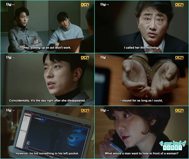 Gwang ho and sun jae with the help of female professor solve another case  -  Tunnel: Episode 3