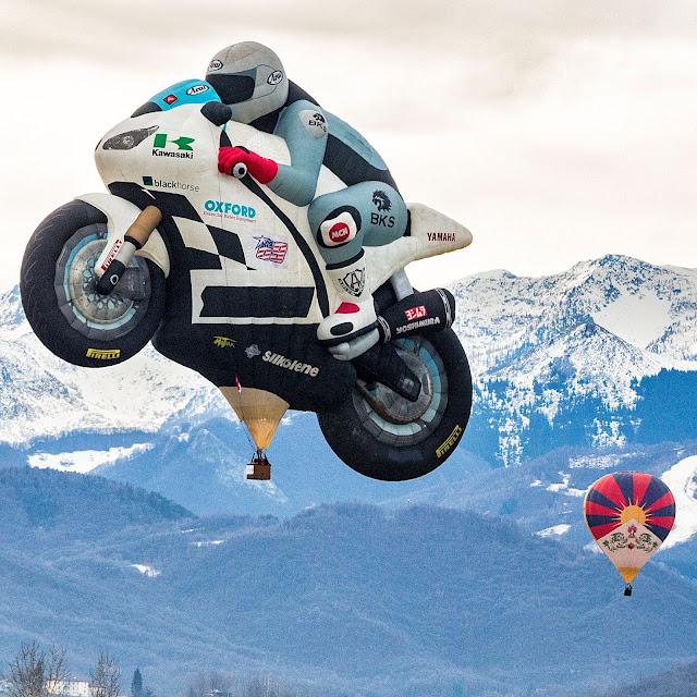 superbyke byke moto motogp mongolfiera mondovì cuneo piemonte raduno aerostatico epifania 2019