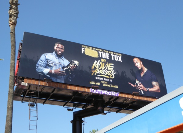 2016 MTV Movie Awards billboard
