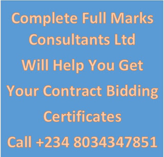 You Need Old Coy Profile for Contract Bidding in Nigeria