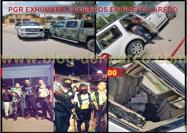 """PGR EXHUMARA 6 CADÁVERES en N.L,BUSCAN TUMBAR """"VERSIÓN del EJÉRCITO"""" y CONFIRMAR EJECUCIONES"""
