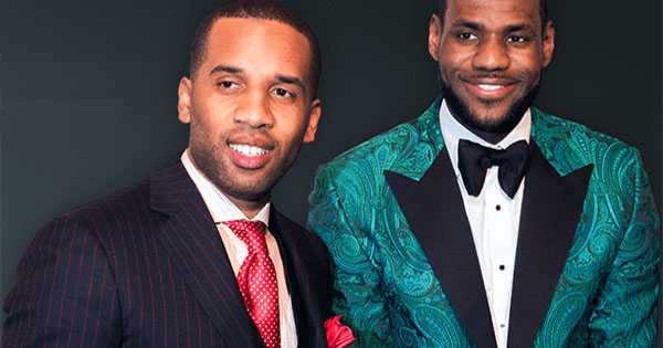 Maverick Carter and Lebron James