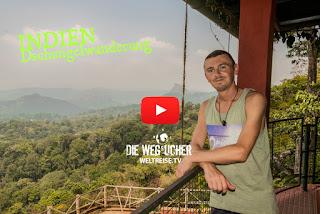WELTREISE krasse Wanderung durch den tropischen Dschungel in Indien WELTREISE.TV Arkadij und Katja