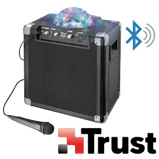 TRUST ALTOPARLANTE BLUETOOTH 50W CON MICROFONO 21405