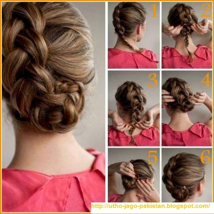 Superb Latest Best Quick And Simple Hair Style Pics Tutorials Pak Fashion Short Hairstyles Gunalazisus