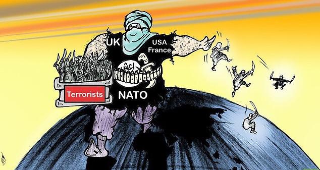 #NATO #terorizam #Napad #strah #Zločin