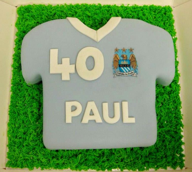 Cake Junki Football Shirt Birthday Cake