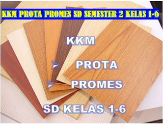 DOWNLOAD KKM, PROTA DAN PROMES SEMESTER 1 DAN 2 SD/MI LENGKAP KELAS 1-6