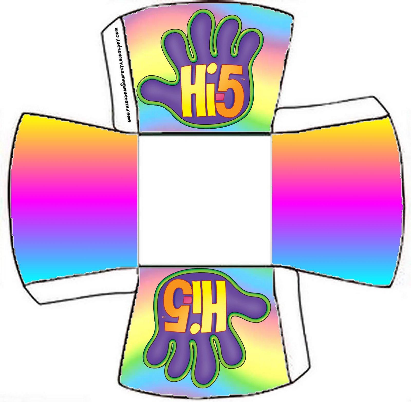 Cajitas Imprimibles De Hi 5 Ideas Y Material Gratis Para