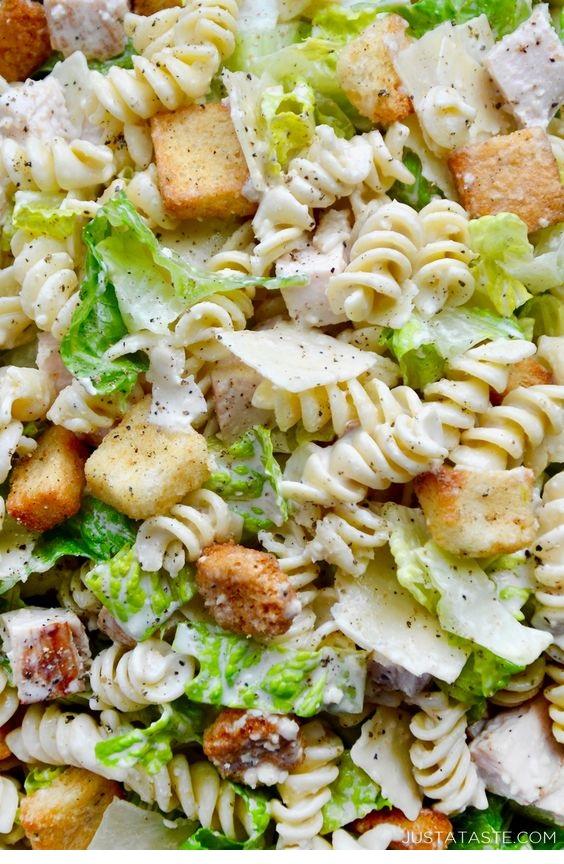 Chicken Caesar Pasta Salad