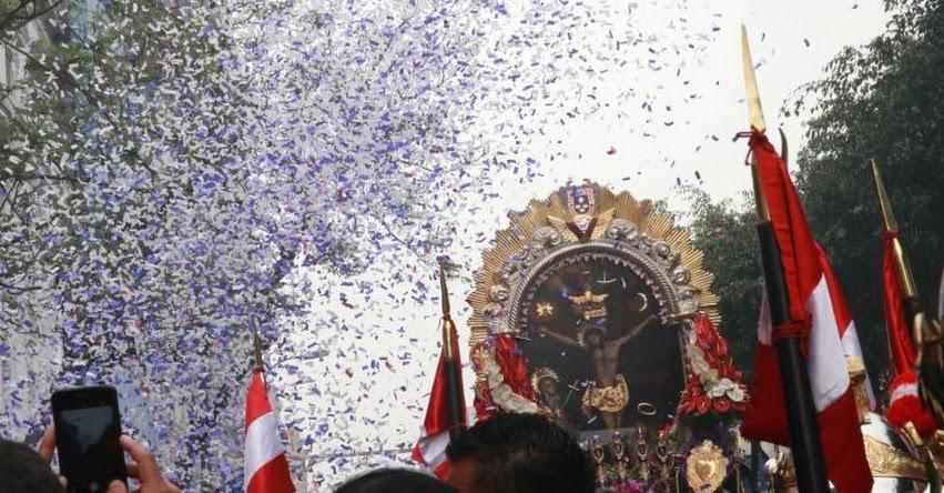 EN VIVO: Señor de los Milagros sale hoy Viernes 30 Marzo en procesión por Semana Santa - Cristo Morado - Cristo Moreno - www.nazarenas.tv