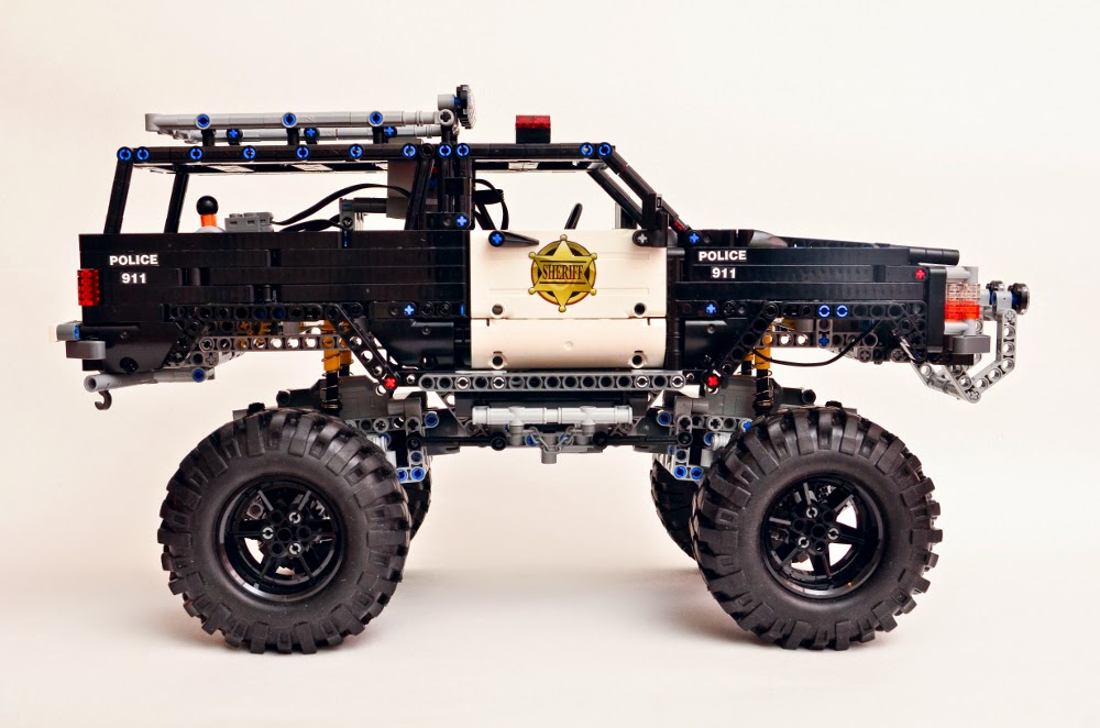 Filsawgood Lego Technic Creations Lego Technic Police Rancher