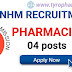 State Health Society, NHM Recruitment - Pharmacist 04 posts