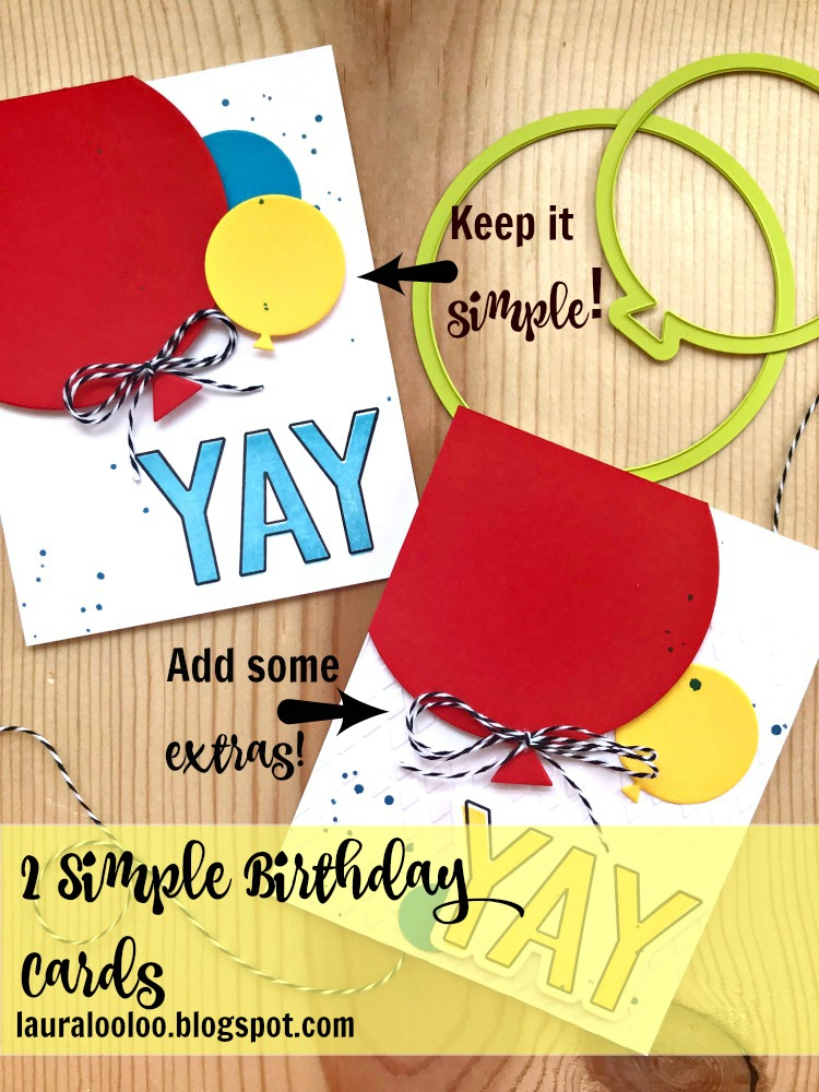 How To Make Simple Birthday Cards For All