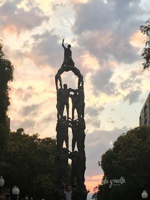 Estatuas Monumento a los castellers