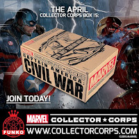 Marvel Collector Corps Civil War